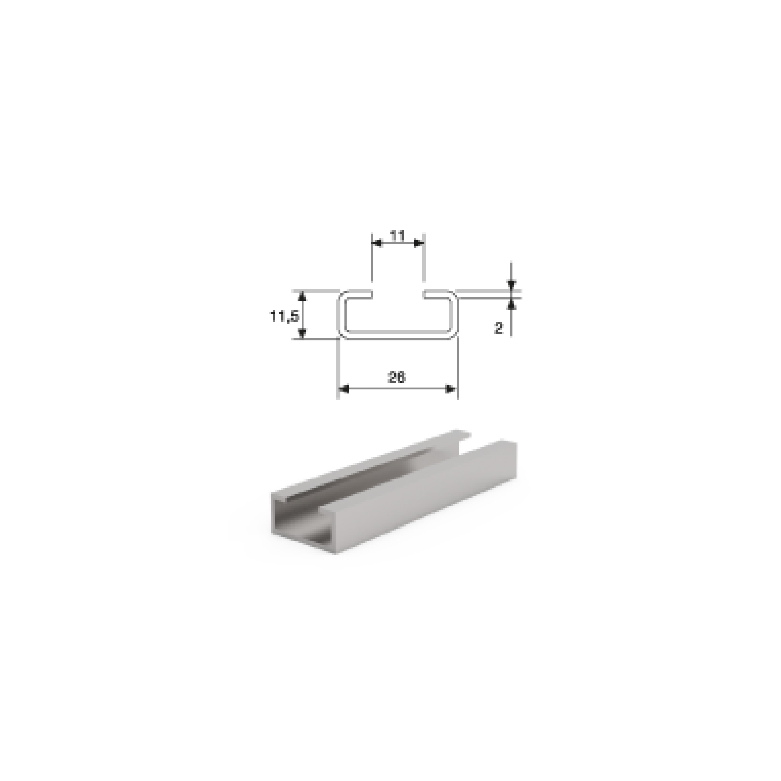 Steel Cable Clamps/Steel Mounting Profile