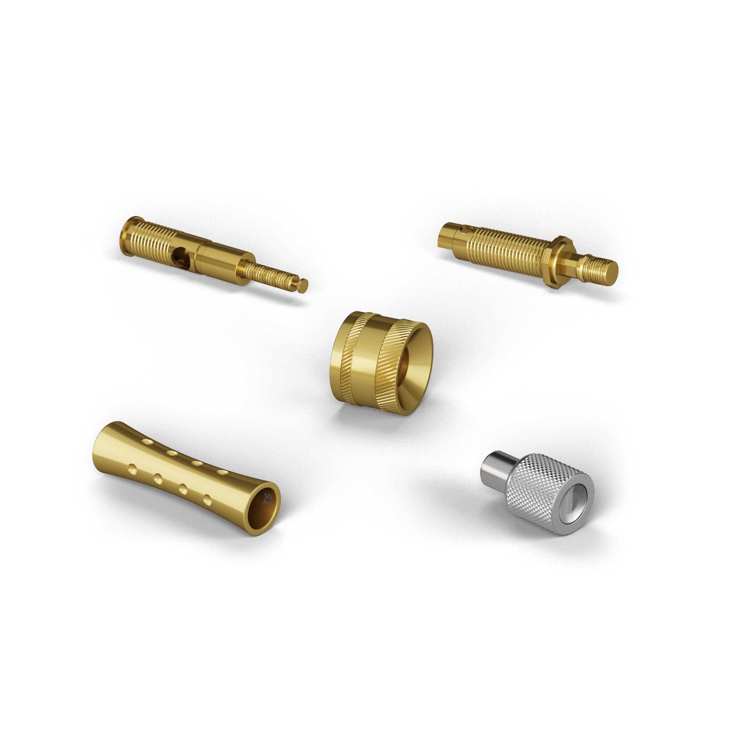 CNC Lathes, Precision Turned Parts